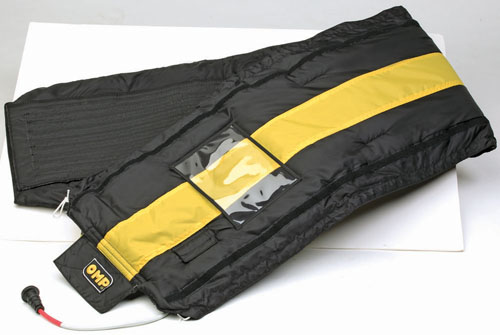T100 OMP RACING TYRE TIRE WARMER BLANKET CARRY BAG