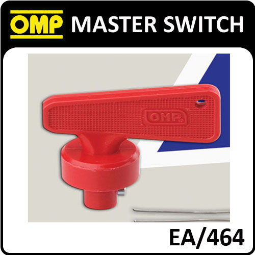 EA/464 OMP SPARE RED KEY FOR OMP EA/462 MASTER SWITCH
