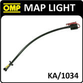 KA/1034 OMP PROFESSIONAL RALLY CO-DRIVER MAP LIGHT EXTRA RIGID 50cm 12v RALLY