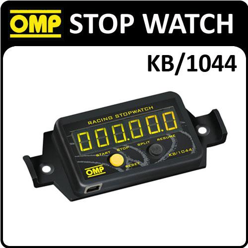 KB/1044 OMP RALLY IN CAR CHRONOMETER STOP CLOCK TIMER 6 DIGIT - DOWNLOAD VIA USB
