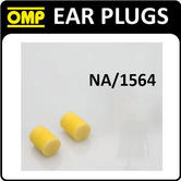 NA/1564 OMP RACING MOTORSPORT FOAM EAR PLUGS IN CASE - USE FOR NOISY MOTORSPORT!