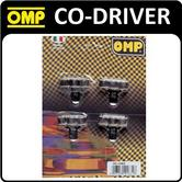 OC/1063 OMP RALLY CO-DRIVER NAVIGATOR SPRING PEN/PENCIL HOLDERS PACK OF 4