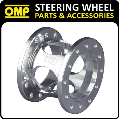 ODC023 OMP FIXED 60mm STEERING WHEEL SPACER SILVER ANODIZED ALUMINIUM