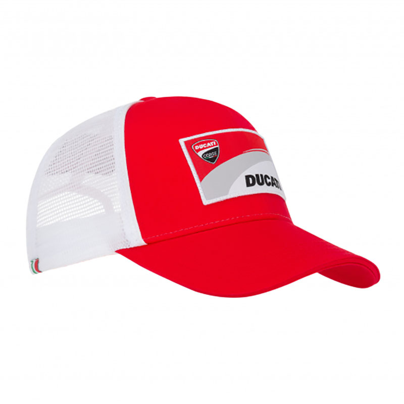 2019 Ducati Corse Racing MotoGP Baseball Trucker Cap Cotton/Polyester Adult Size