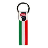2019 Ducati Corse Racing MotoGP Italian Flag Keyring 7.5cm Official Merchandise