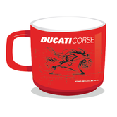 2019 Ducati Corse Racing MotoGP Mug Coffee Tea Drinking Cup Official Merchandise