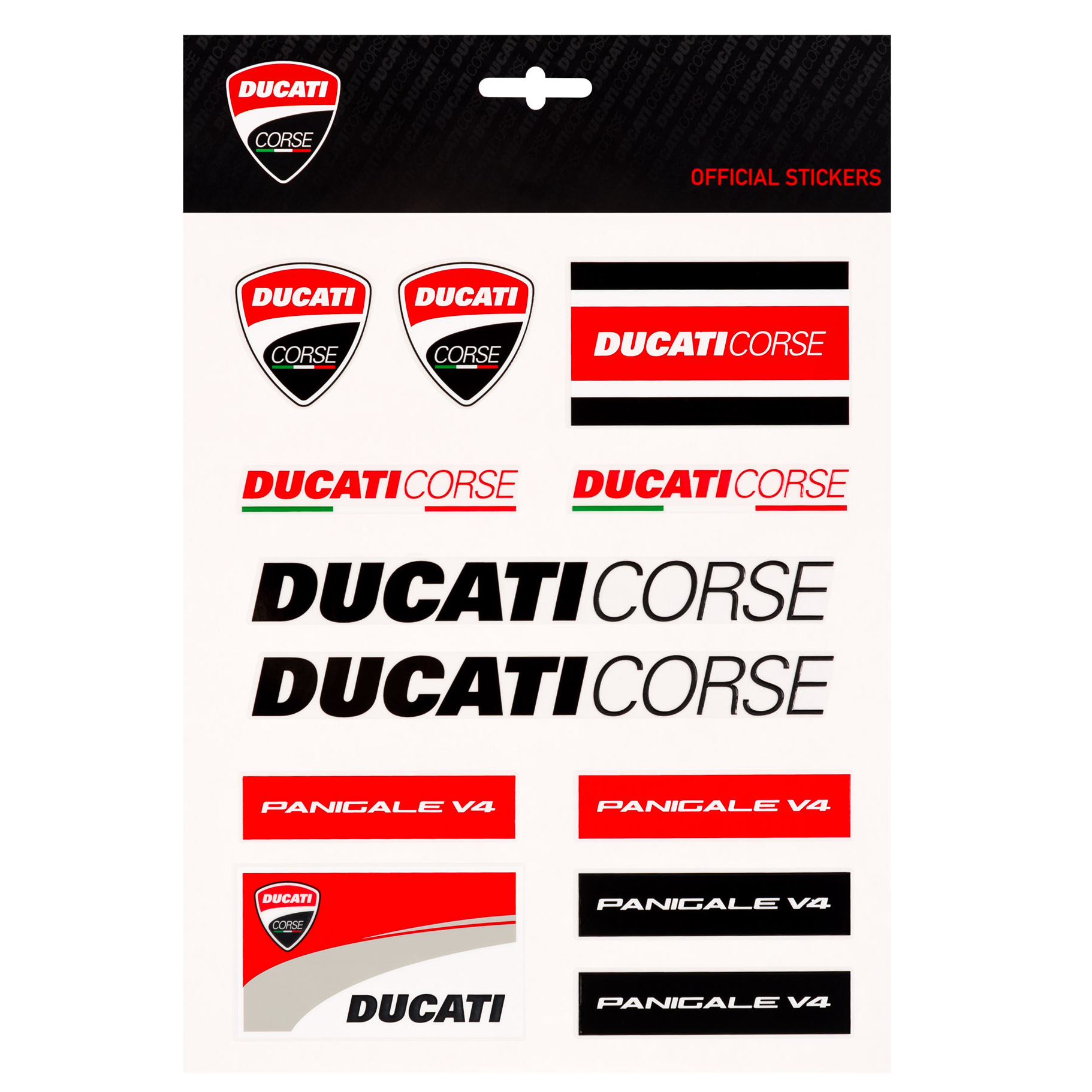 Details about 2019 ducati corse racing motogp large sticker sheet decals official merchandise