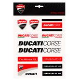 2019 Ducati Corse Racing MotoGP Large Sticker Sheet Decals Official Merchandise