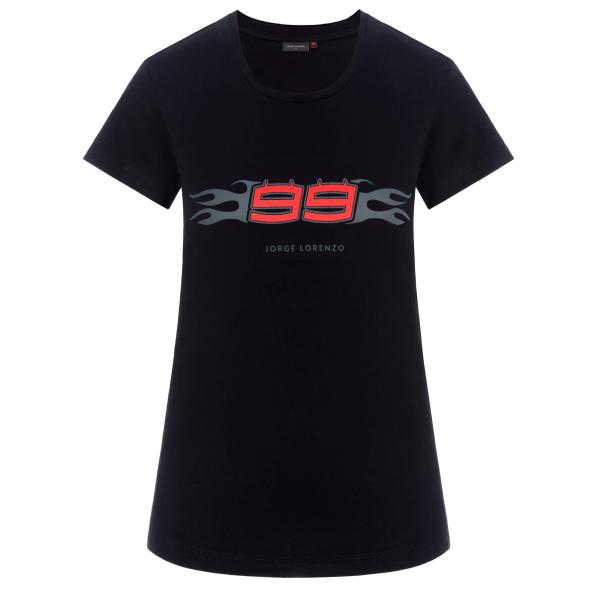 2019 Jorge Lorenzo 99 MotoGP Ladies T-Shirt Womens Tee 100% Cotton Sizes XS-XL