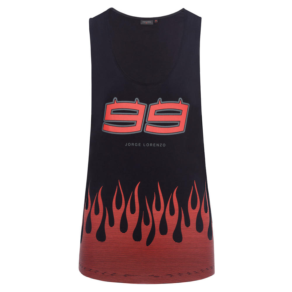 2019 Jorge Lorenzo 99 MotoGP Ladies Tank Top Womens Vest 100% Cotton Sizes XS-XL