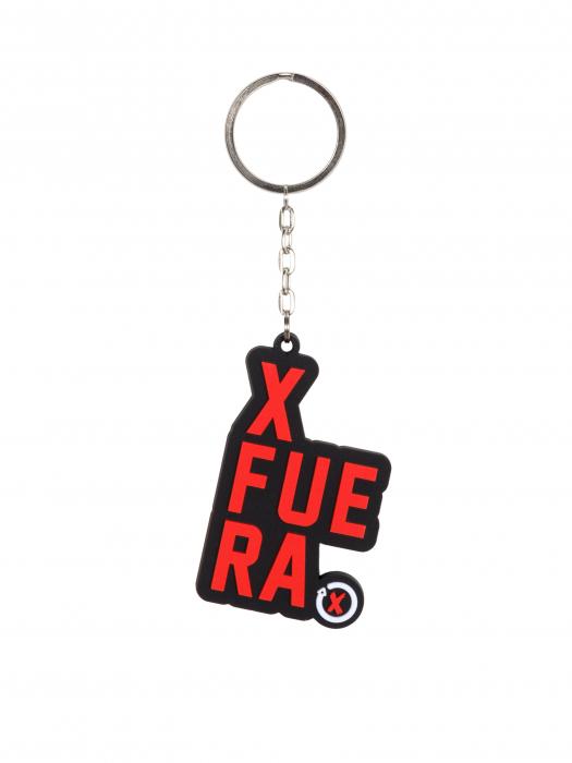 2019 Jorge Lorenzo #99 XFUERA MotoGP Official Keyring Keychain Fob PVC 4.5cm