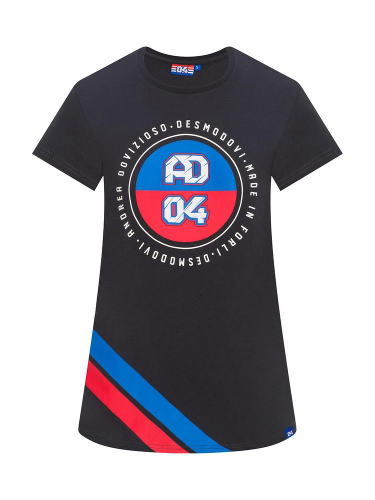 2019 Andrea Dovizioso AD #04 Ladies T-Shirt Womens Official Ducati MotoGP Tee
