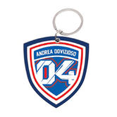 2019 Andrea Dovizioso 04 MotoGP Keyring Keychain Key Ring Chain Fob PVC 5cm