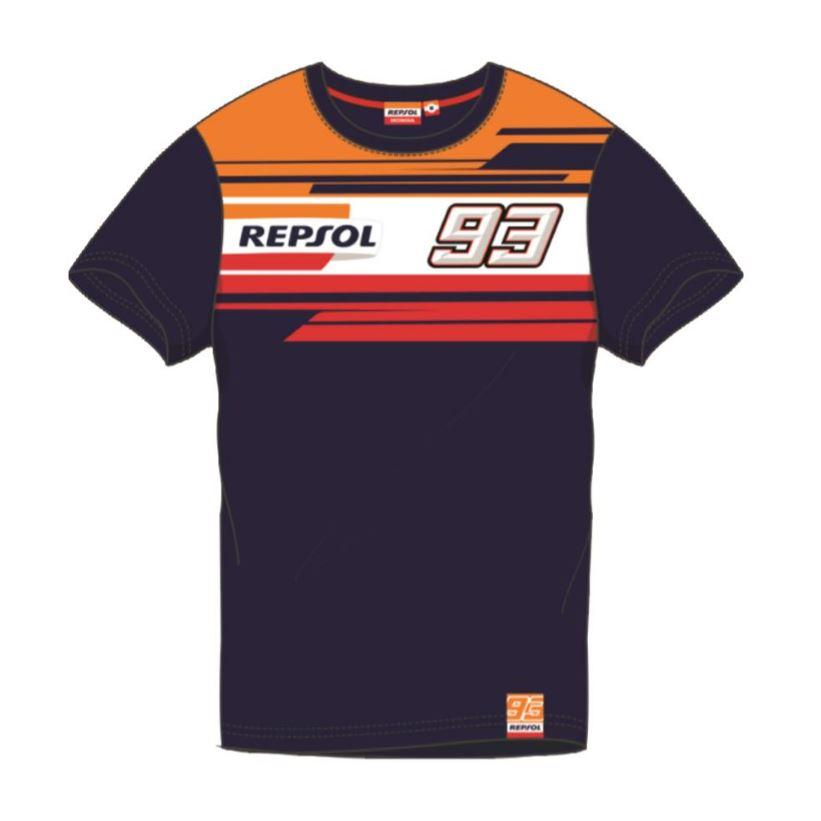 2019 Marc Marquez #93 REPSOL RACING Mens T-Shirt Tee Jersey Sizes S-XXL