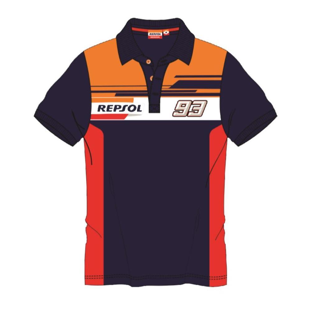 2019 Marc Marquez #93 REPSOL RACING Polo Shirt Mens Official Merchandise