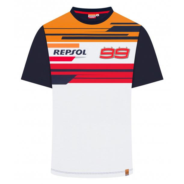 2019 Jorge Lorenzo #99 Official T-Shirt REPSOL RACING MotoGP Merchandise