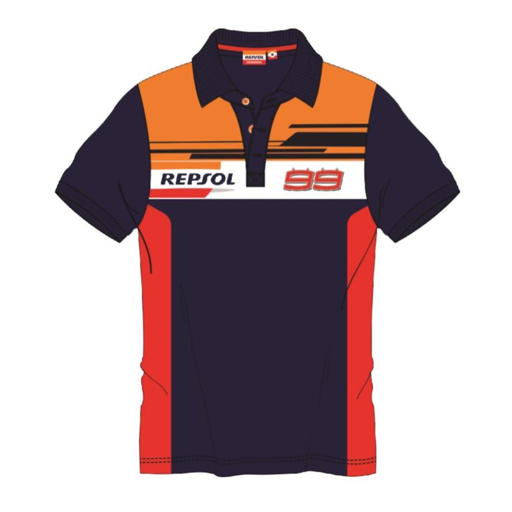2019 Jorge Lorenzo #99 REPSOL RACING Polo Shirt Mens Official Merchandise