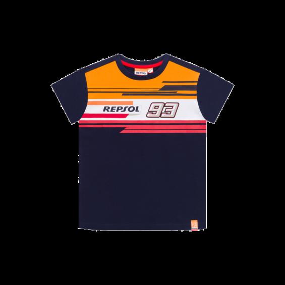 2019 Marc Marquez #93 Children T-Shirt Boys Kids Junior Repsol Honda Merchandise