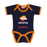 2019 REPSOL RACING MotoGP Baby Vest BabyGrow Dark Blue Ages 3-18 Months