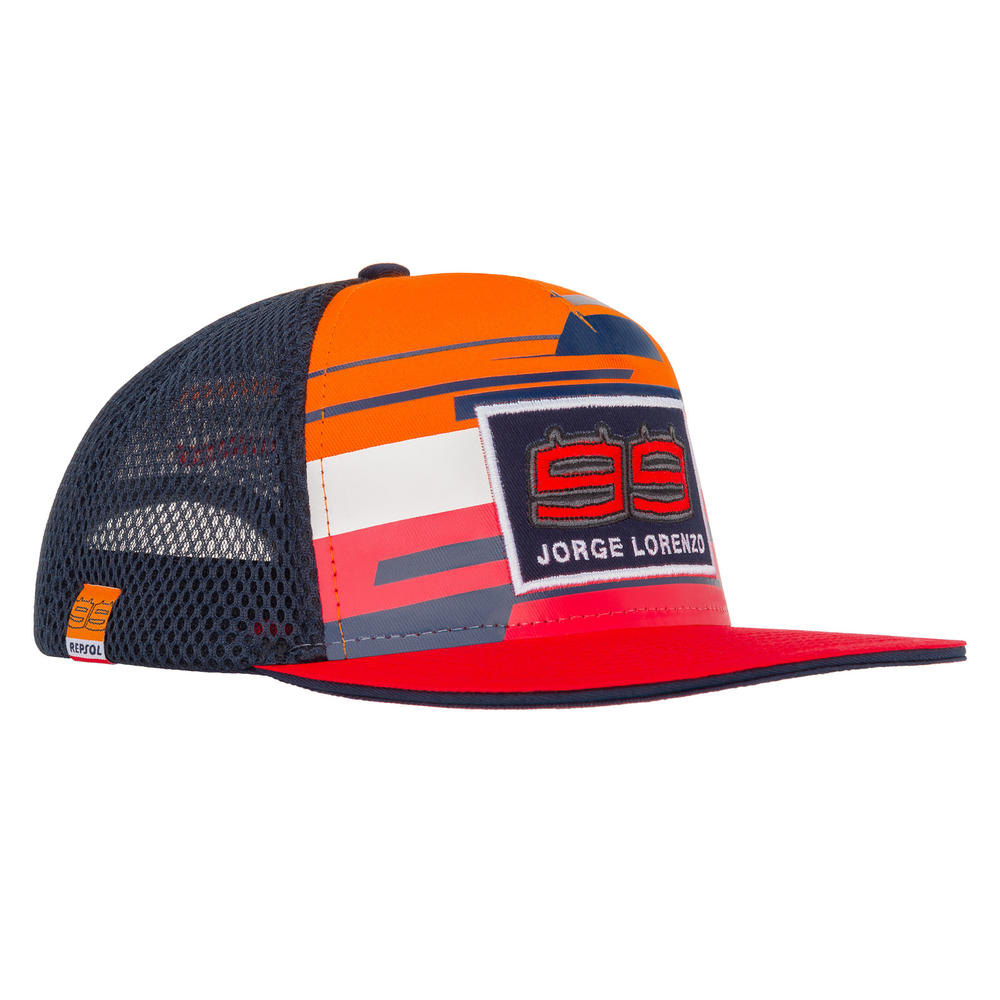 2019 Jorge Lorenzo #99 Official Flatbrim Cap REPSOL RACING Merchandise