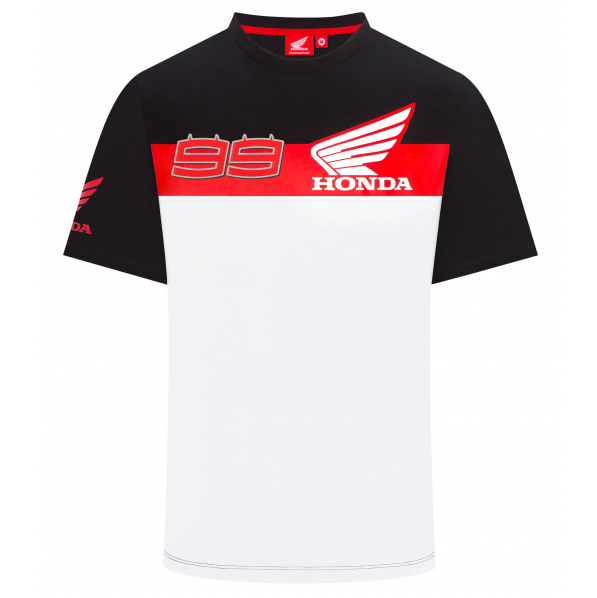 2019 Jorge Lorenzo #99 Mens Team T-Shirt Official Honda HRC MotoGP Merchandise
