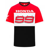 2019 Jorge Lorenzo Mens Team T-Shirt #99 Logo Official Honda MotoGP Merchandise