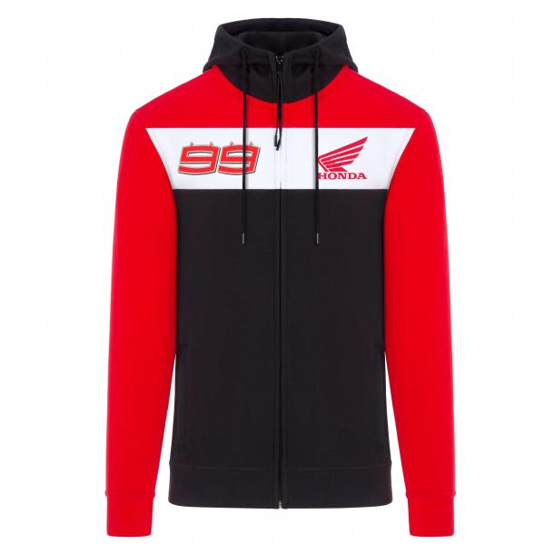 2019 Jorge Lorenzo #99 Hoodie Sweatshirt Hoody Official Honda MotoGP Merchandise