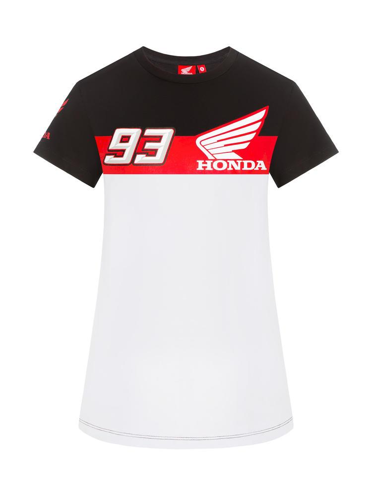 2019 Marc Marquez Ladies T-Shirt #93 Logo Womens Girls Honda MotoGP Merchandise