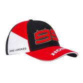 2019 Jorge Lorenzo #99 Honda HRC Team Cap Official MotoGP Merchandise