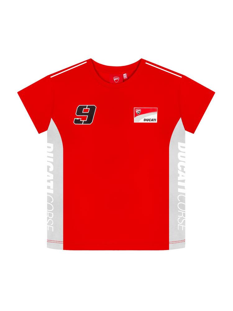 2019 Danilo Petrucci #09 Childrens T-Shirt Boys Kids Junior Ducati Corse MotoGP