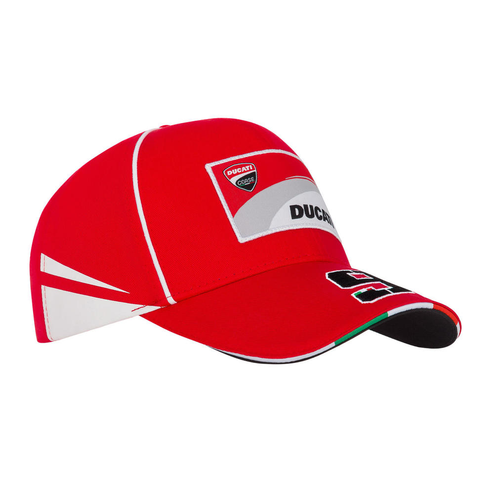 2019 Danilo Petrucci #09 Official Baseball Cap Red Ducati Corse Racing MotoGP