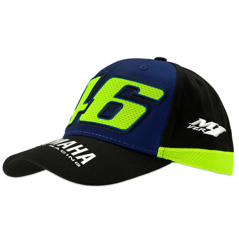 2019 Valentino Rossi VR46 Official Rider Cap Adult Size Yamaha Factory Racing