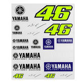 2019 Valentino Rossi VR46 Official Sticker Set Decals Yamaha Factory Racing