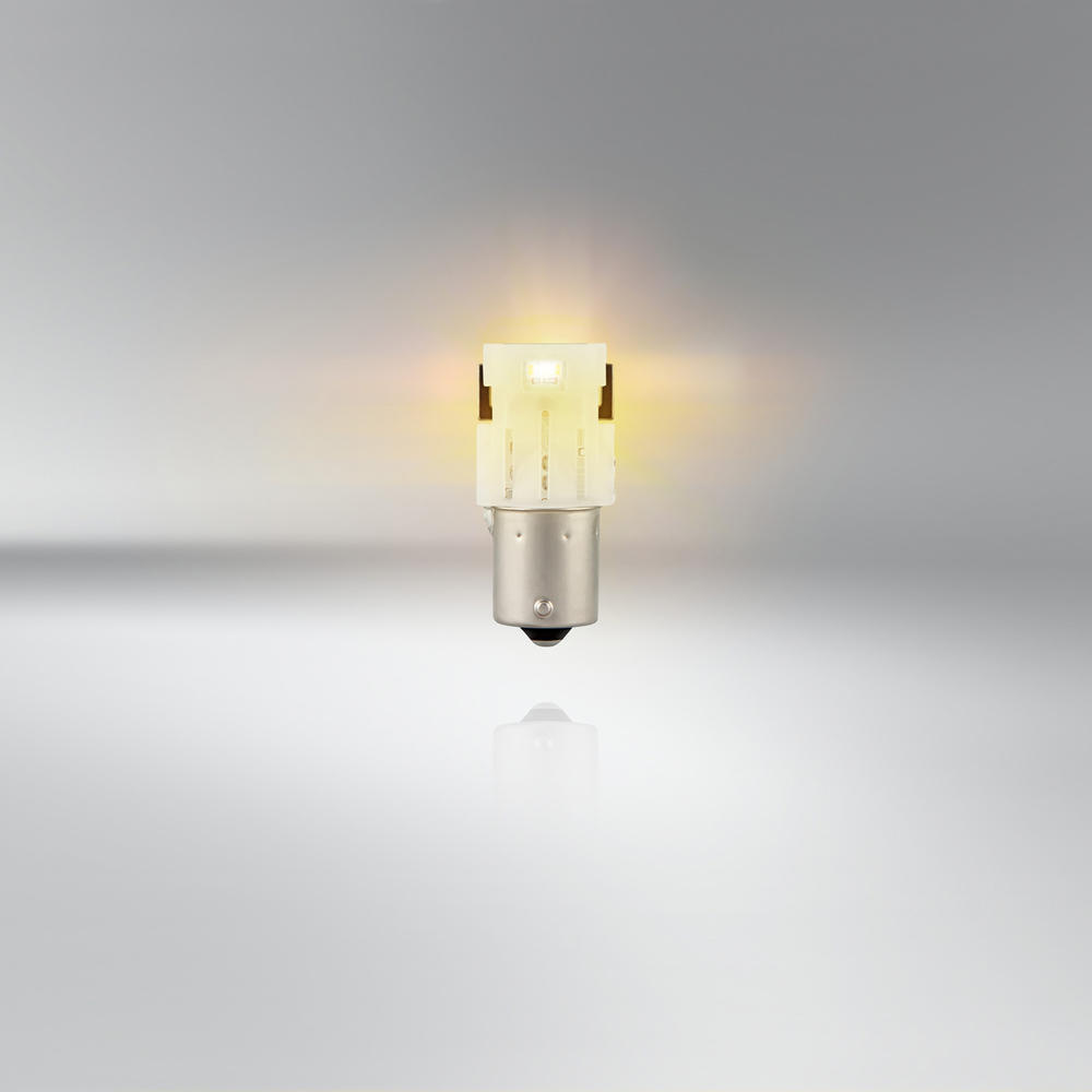 Lampen & LED Osram LED P21/5W Car Amber Indicator Bulbs Bayonet ...