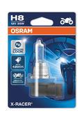 Osram H8 X-Racer Xenon Look 4200K Motorbike Headlight Bulb 35W (x1) 64212XR-01B