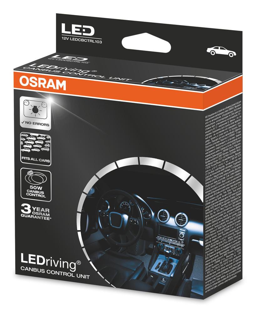 LEDCBCTRL103 OSRAM LED Canbus Control Unit for FOG 2 x 50W to Remove LED Errors