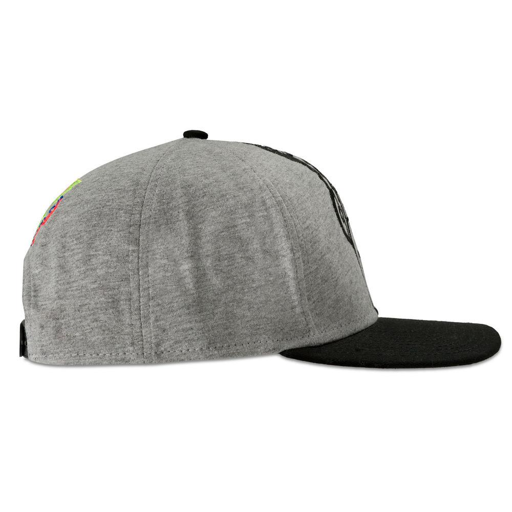 Valentino Rossi VR46 DOTTORINO Grey Flatbrim Cap Adult Size Official Merchandise