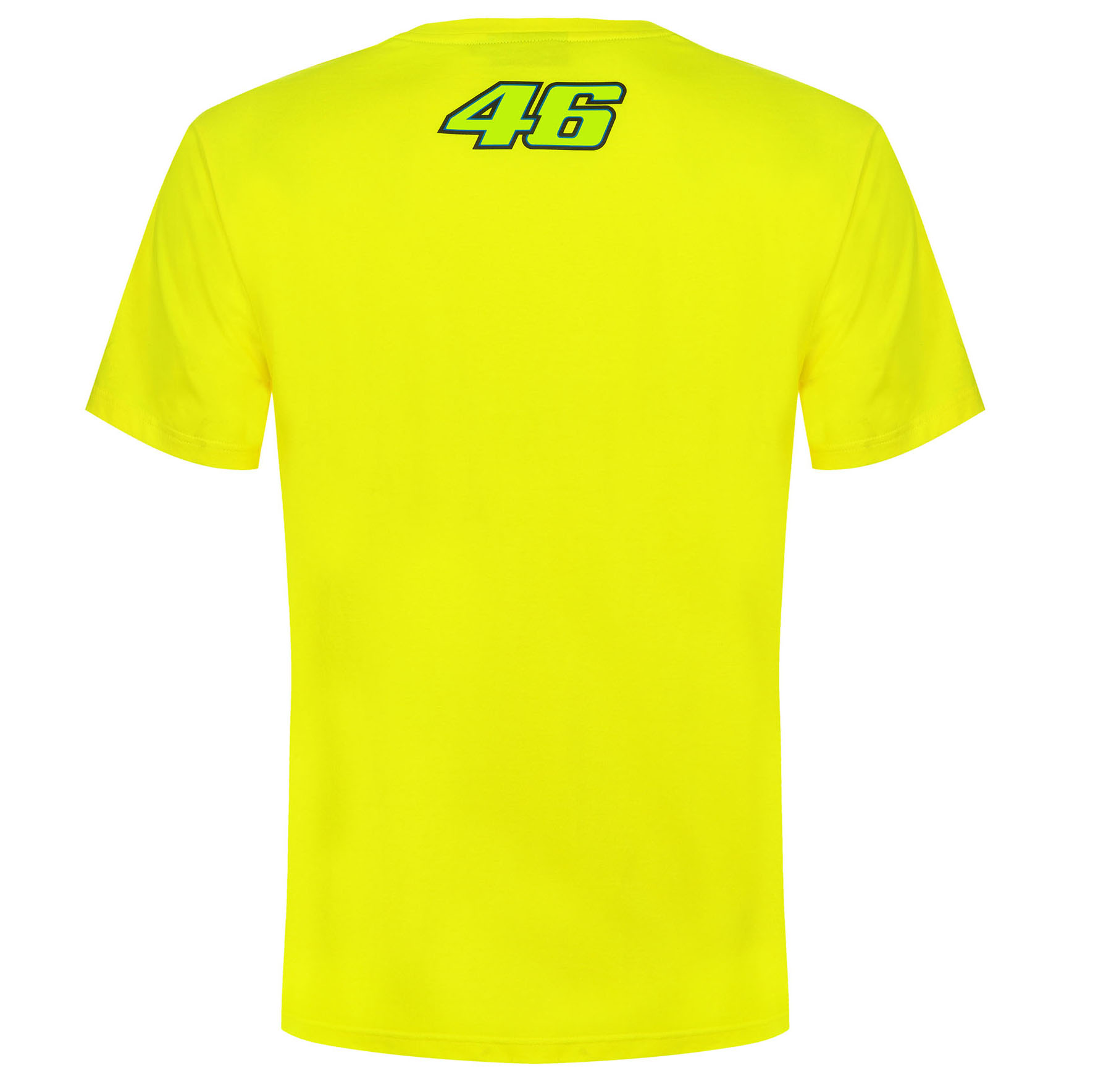 VR46 Valentino Rossi 46 THE DOCTOR Men/'s T-Shirt Yellow #46 Official Merchandise