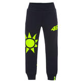 VR46 Valentino Rossi Kids Pants Childrens Sole E Luna Joggers Blue Ages 1-14
