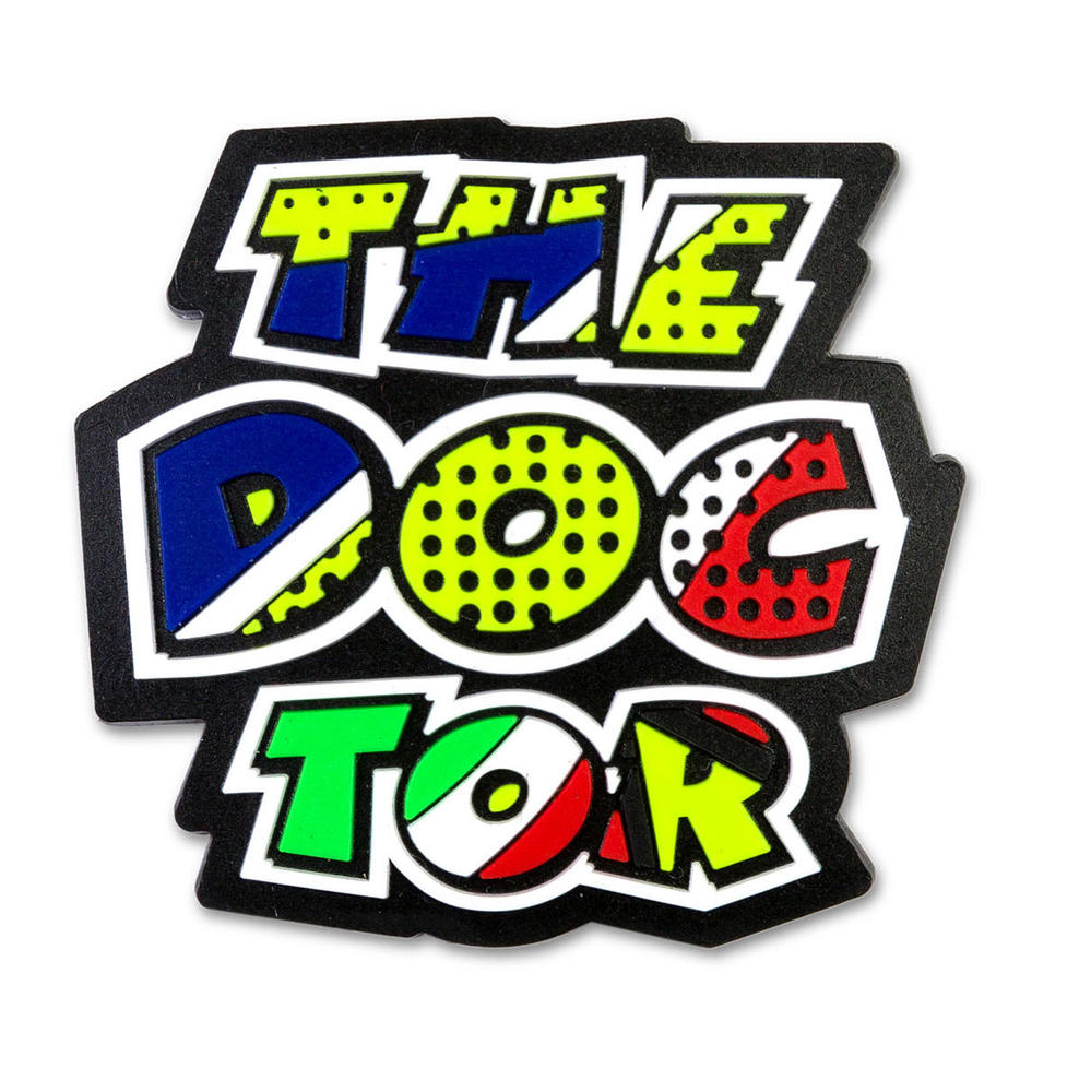 VR46 Valentino Rossi THE DOCTOR Magnet Novelty Gift #46 Official Merchandise