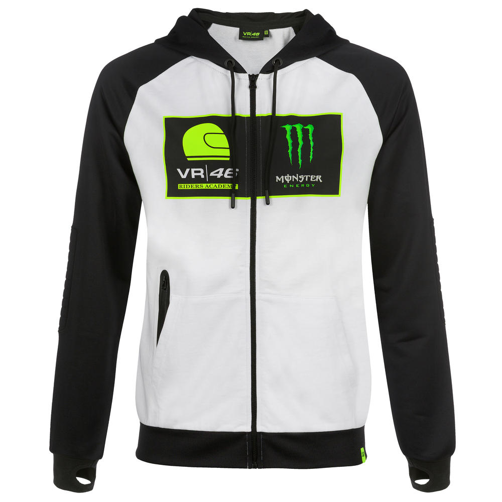2019 Valentino Rossi VR46 Monster Mens Hoodie Hoody Academy Official Merchandise