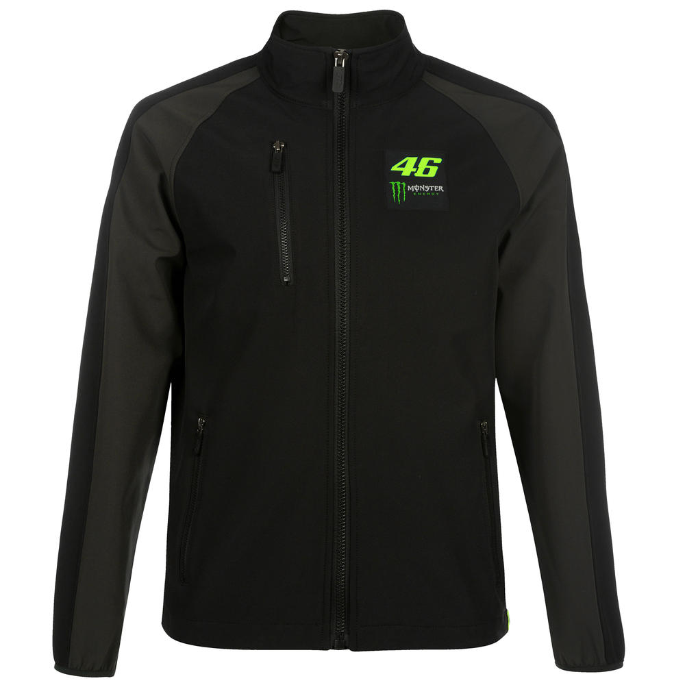 2019 Valentino Rossi VR46 Monster Mens Softshell Jacket Official Merchandise