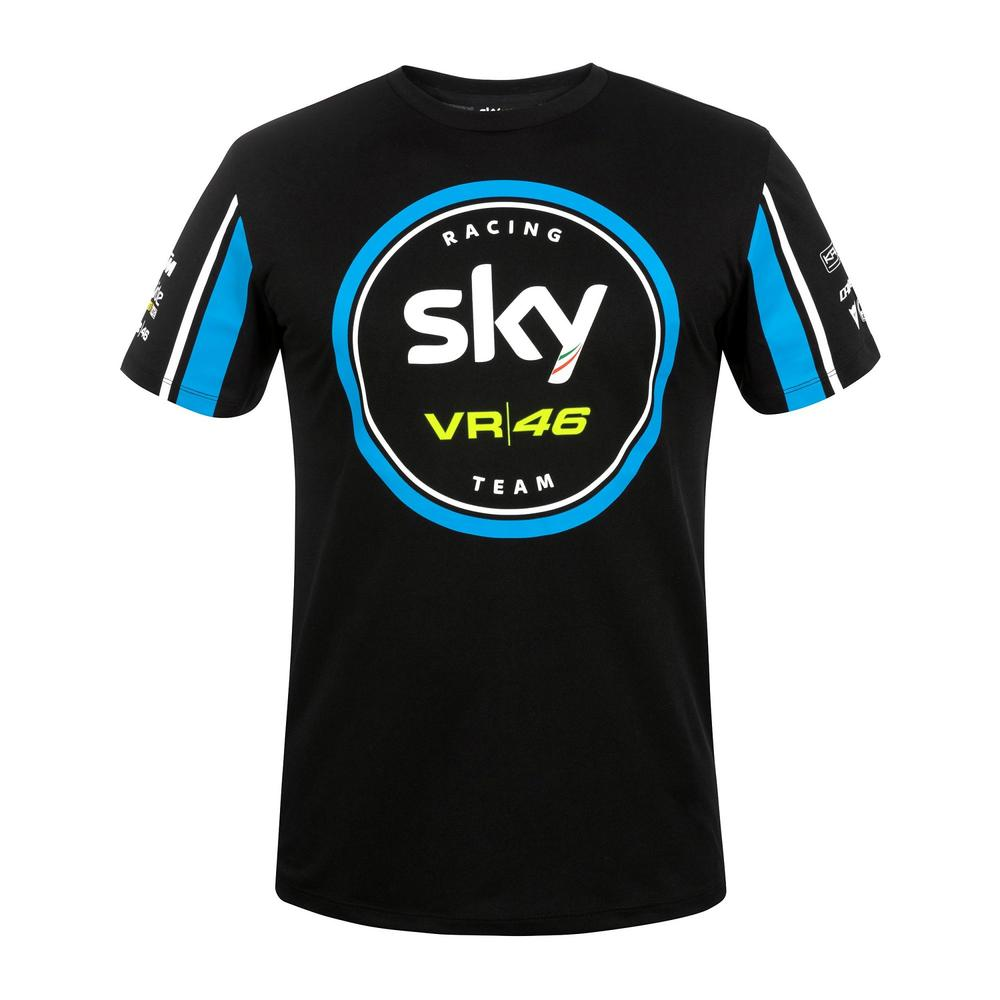 2019 Sky VR46 Racing Team T-Shirt Men's MotoGP Moto2 Moto3 Official Merchandise