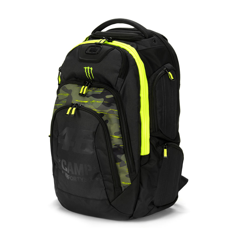 2019 Valentino Rossi VR46 by Ogio RENEGADE Bag Backpack Rucksack Monster Design