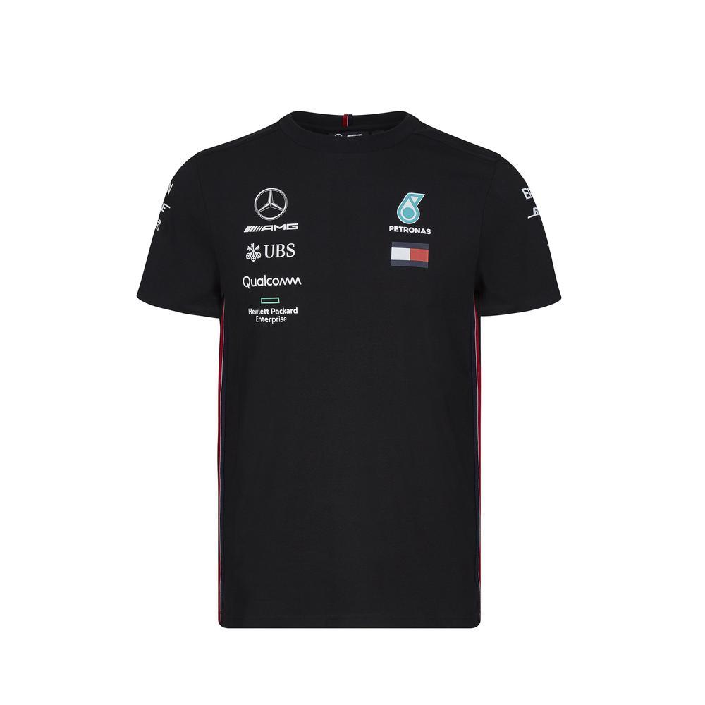 Sale! Mercedes F1 Official 2019 Mens Driver T-Shirt Lewis Hamilton