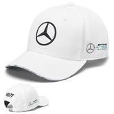 2019 Valtteri Bottas F1 Drivers Cap WHITE Official Mercedes-AMG Formula One Team