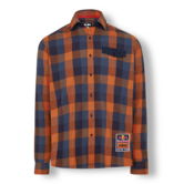 2019 Red Bull KTM Racing MotoGP MX Flannel Shirt Lumberjack Check Long Sleeve