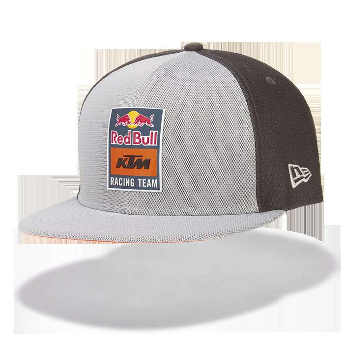 2019 Red Bull KTM Racing MotoGP MX GREY Flatbrim Cap New Era 9Fifty Reflective