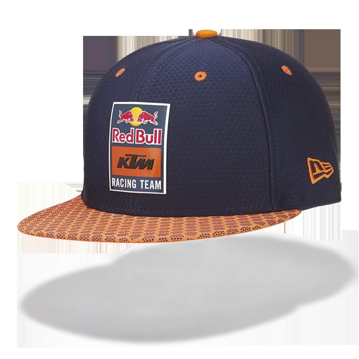 2019 Red Bull KTM Racing MotoGP MX Flatbrim Cap Blue New Era 9Fifty Hex Era
