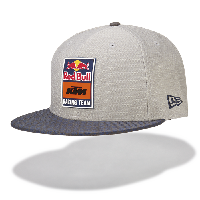 2019 Red Bull KTM Racing MotoGP MX Flatbrim Cap Grey New Era 9Fifty Hex Era